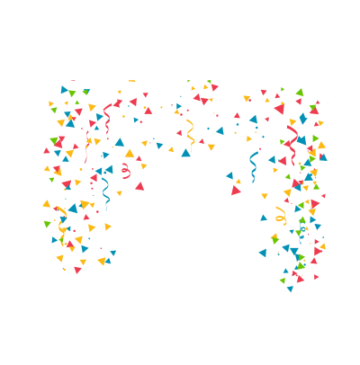 Birthday Party Confetti Clip Art - Confe #1303984 - PNG Images - PNGio
