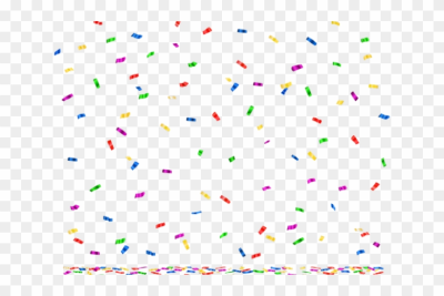 Happy Birthday Clipart Confetti - Party, HD Png Download - 640x480 ...