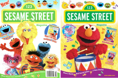 Sesame Street Magazine $13.99/Year (Each Issue Contains Stories ...