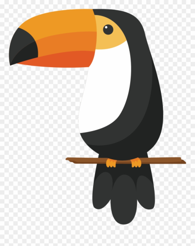 Toucan Clipart Crow Beak - Toucan Cartoon Drawing - Png Download ...