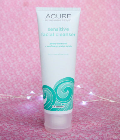 Acure Organics Sensitive Facial Cleanser | Review - Elizabeth Fox
