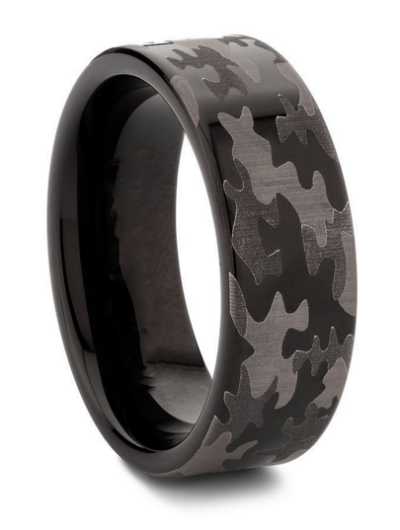 Purchase these amazing Military Camouflage Tungsten Wedding Ring ...
