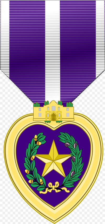 Texas Military Forces Texas Purple Heart Medal Texas Purple Heart ...