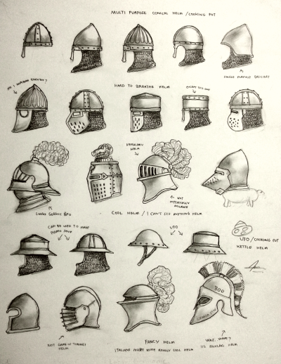 Project WARRGH - Medieval European Helmet part 1 by Gambargin helm ...