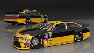Jeb Burton 2015 Throwback Base | Stunod Racing