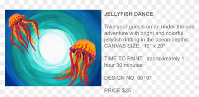 Jellyfish Dance Popup Paint Studio - Marine Biology, HD Png ...