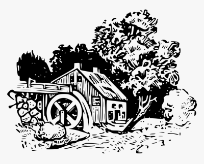 Water Mill Clipground Watermill - Clipart Water Mill Logo, HD Png ...