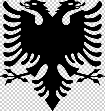 Flag Of Albania Double-headed Eagle Albanian Declaration Of ...