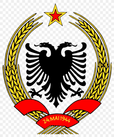 People's Socialist Republic Of Albania Coat Of Arms Of Albania ...