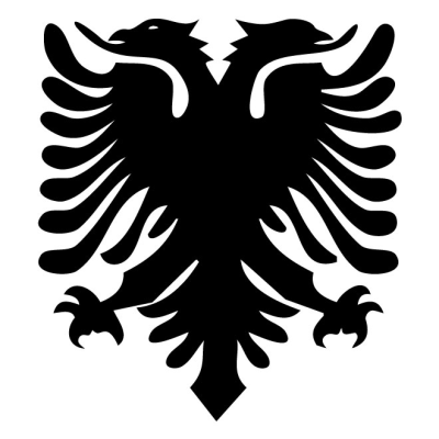 Albania coat of arms - Free vector image in AI and EPS format.