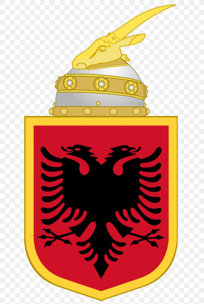 Flag Of Albania Coat Of Arms Of Albania Albanian Kingdom, PNG ...