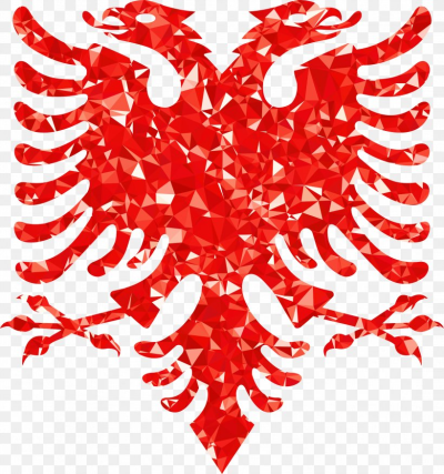 Flag Of Albania Double-headed Eagle National Anthem Of Albania ...