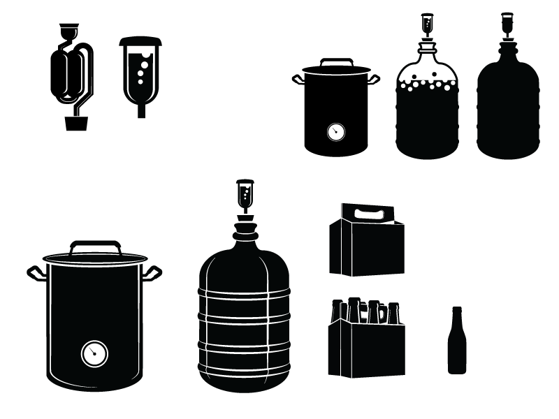 Brew Icons By Jillian Noble On Dribbble #1504374 - PNG Images - PNGio