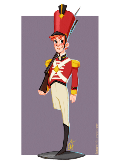 The Steadfast Tin Soldier by KiraSTFD on DeviantArt