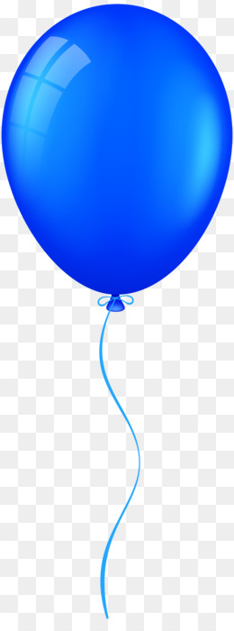 Blue Balloon PNG - Blue Balloon, Baby Blue Balloons, Red White And ...