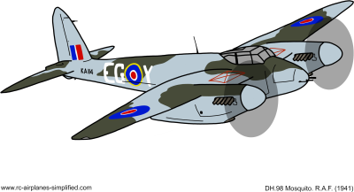 Download HD De Havilland Mosquito Png Transparent PNG Image ...
