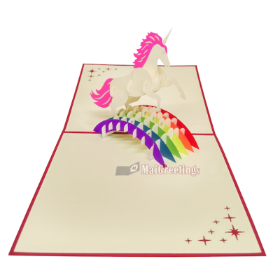 3D Unicorn Pop Card | Vietnam 3D Pop Up Cards