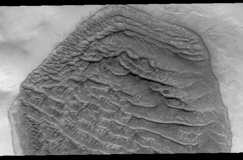 Weird hexagonal dune field seen on Mars | Space | EarthSky