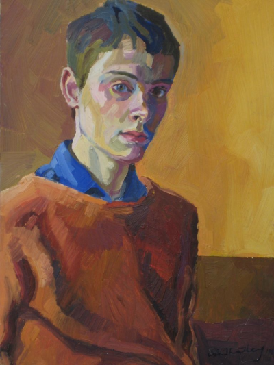 Stephen B Whatley, Self-Portrait (1983-84) | Portrait art ...