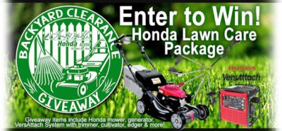 Backyard Clearance Giveaway at Larry H. Miller Honda Boise | Larry ...