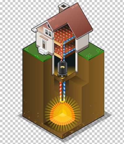 Geothermal Heat Pump Central Heating Geothermal Heating Geothermal ...