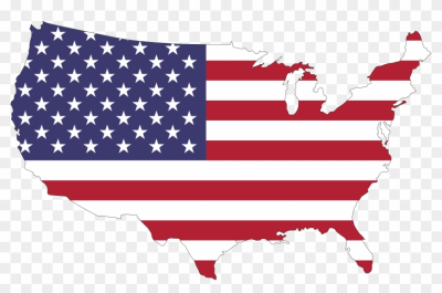 American Flag Clipart Us History - America Flag Map - Free ...