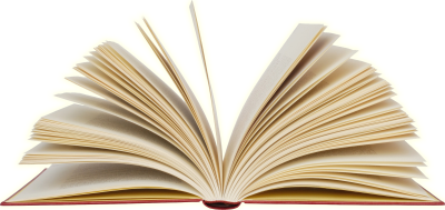 Open Book Transparent Background