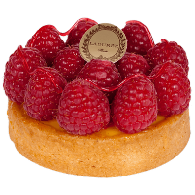 Passion Fruit Raspberry Tart - Ladurée | Food png, Food, Tart dessert