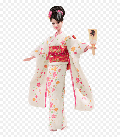 Japan Barbie Dolls Of The World, HD Png Download - barbie doll png ...