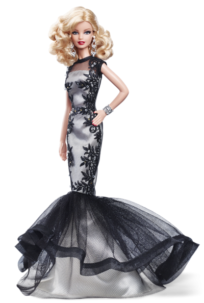 Barbie Doll Evening Gown PNG Image | Barbie gowns, Evening gowns ...