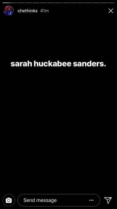 Michael Che Wants You To Know He Feels Bad For Sarah Huckabee ...