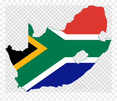 Download South Africa Flag Map Clipart Flag Of South - Heritage ...