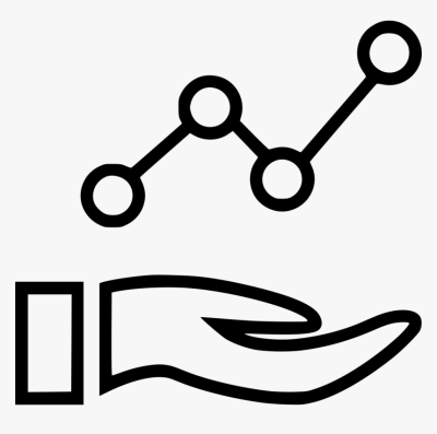 Hand Share Connection Data Graph Analytics Analyze - Time Series ...