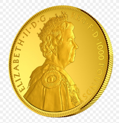 Gold Coin Gold Coin Diamond Jubilee Of Elizabeth II, PNG ...