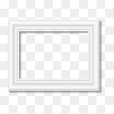 White Frame, Frame Clipart, Frame, Wall Items PNG Transparent ...