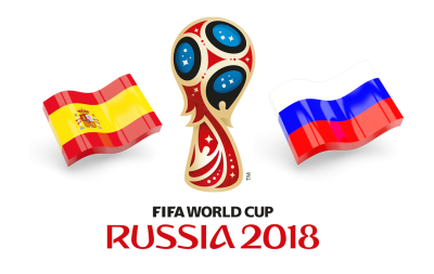 Fifa World Cup 2018 Spain Vs Russia