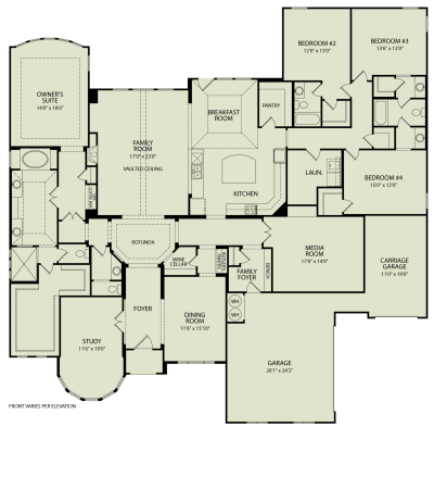 MARLEY, 125 | Drees Homes Interactive Floor Plans | Custom Homes ...
