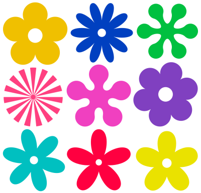 Flowers Vectors Png File