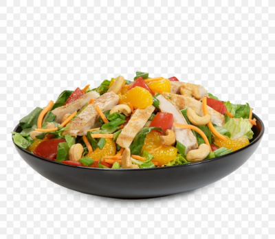 Thai Cuisine Chinese Chicken Salad Wrap Caesar Salad, PNG ...