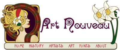 Art nouveau artist clipart images gallery for free download ...