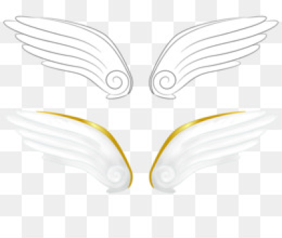 Simple Wings PNG - Simple Wings Coloring Pages, Simple Wings Trace.