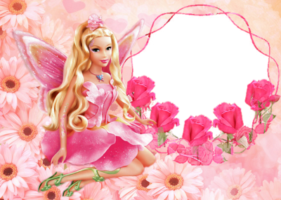 HD Barbie Cute Pink Desktop Wallpaper Tablo Ⓒ - Barbie Background ...