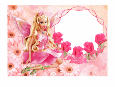 Barbie Cute Pink Desktop Wallpaper Tablo Ⓒ - Barbie Background ...