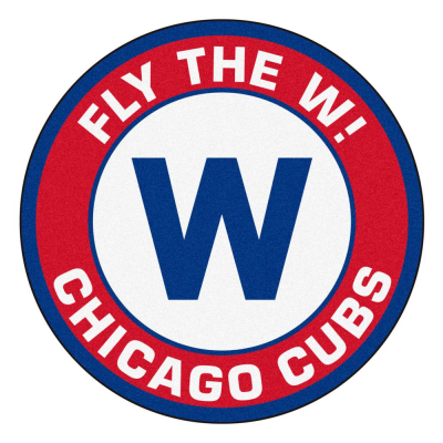 FANMATS MLB - Chicago Cubs 27 in. Round Roundel Mat Area Rug-21903 ...