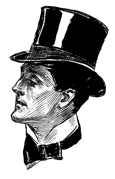 man-with-victorian-top-hat-sideview