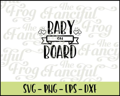 Download Baby on Board Maternity PNG SVG EPS Vector | PNGio
