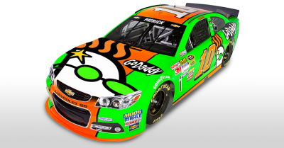 Danica Patrick's GoDaddy car to have Peeker on hood (Photos ...