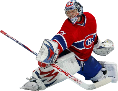 HOckey Goalie (PNG) | Official PSDs