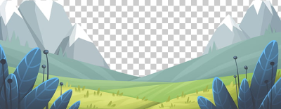 Meadow Animation, Cartoon mountain meadow leaf PNG clipart | free ...