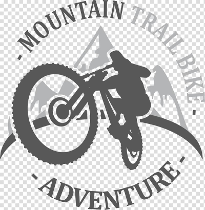 Mountain Trail Bike logo, Logo Bicycle wheel, Mountain bike race ...